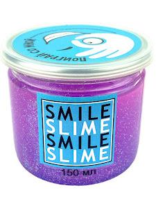 Слайм-лизун Фиолетовые блески, 150 мл.