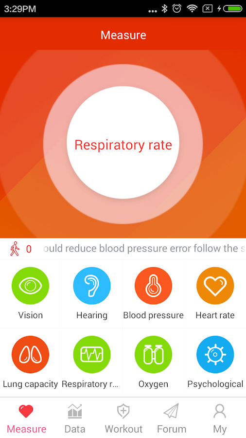 iCare Respiratory Rate Pro Screenshot 5