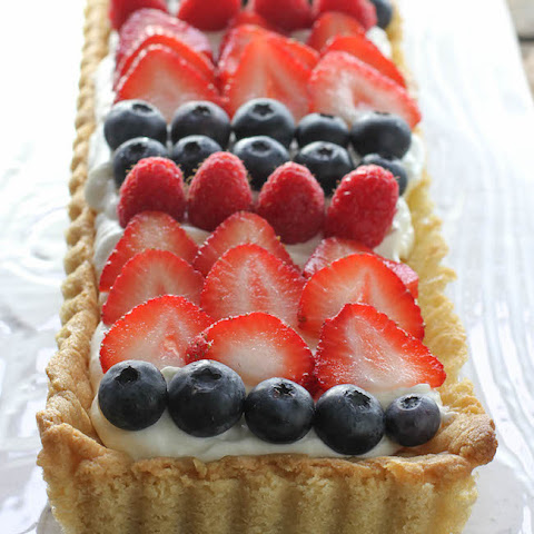 Limoncello Mixed Berry Tart