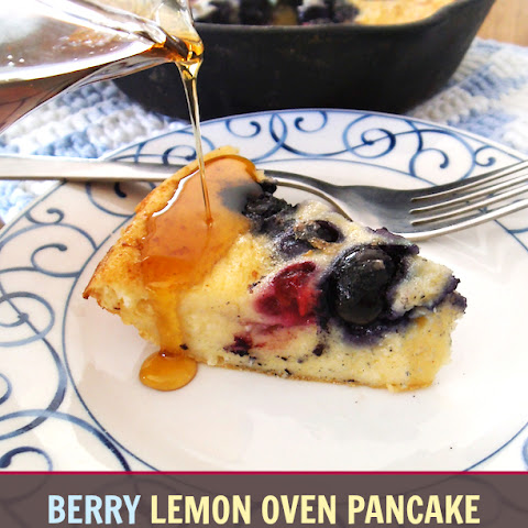 Berry Lemon Oven Pancake