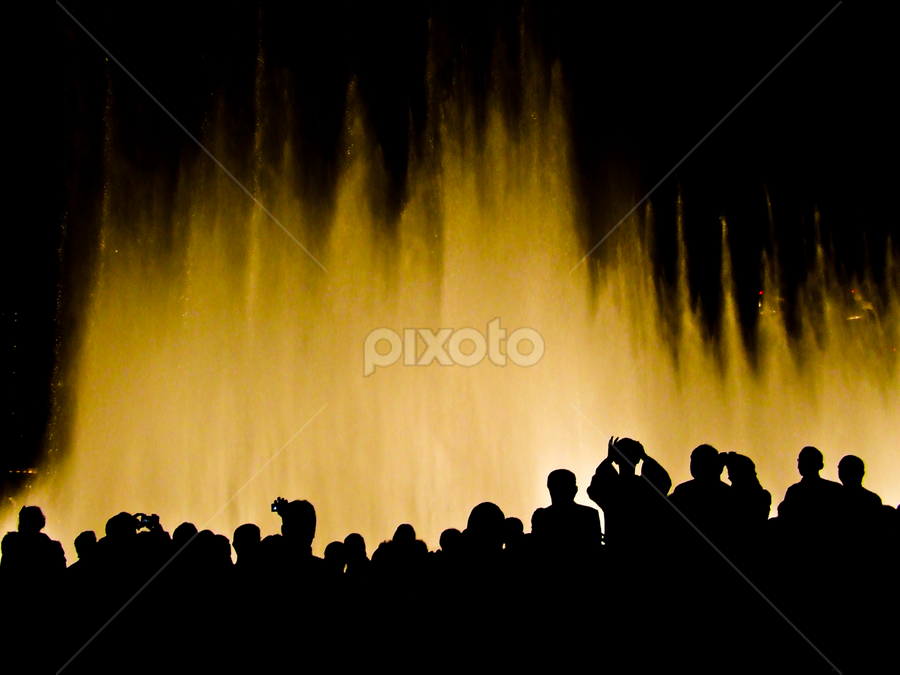Spectators by Adonis V. Tividad - People Group/Corporate