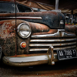 OLD CAR by Frans Priyo - Transportation Automobiles ( car, beautiful, transportation, antique )