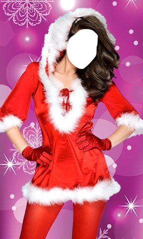 android Christmas Dress Photo Montage Screenshot 5