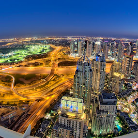 Golden Dubai by Andrew Madali - City,  Street & Park  Neighborhoods