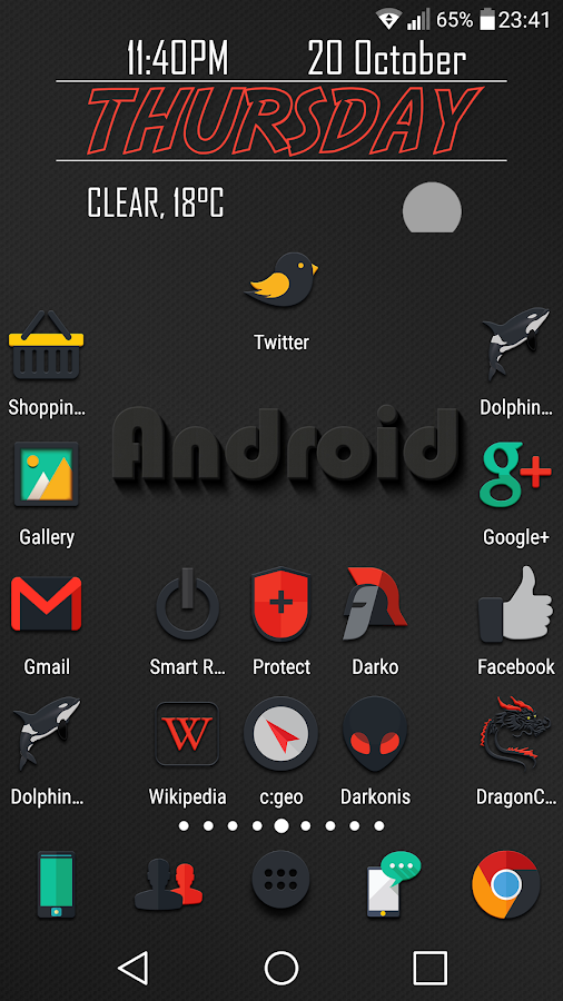 Darkonis - Icon Pack Screenshot 7