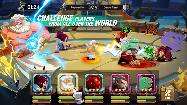 We Heroes - Born To Fight APK screenshot thumbnail 10
