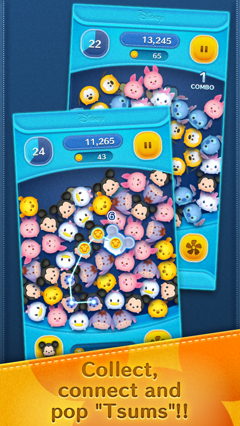 LINE: Disney Tsum Tsum Screenshot 1