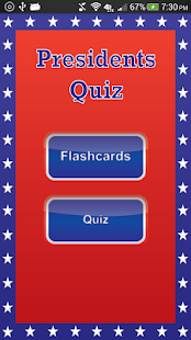 Presidents Quiz - screenshot