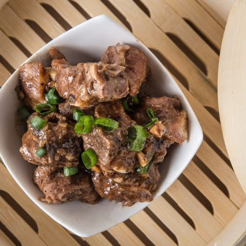 Pressure Cooker Spare Ribs with Black Bean Sauce