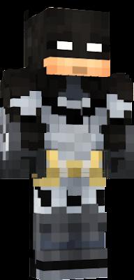 how to get batman skin in minecraft pe
