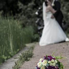 by Obaid Ahmadi - Wedding Bride & Groom