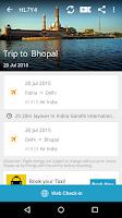 Screenshot of PNR Status Rail Train Flight