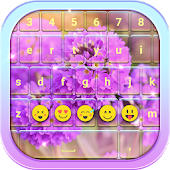 Flower Keyboard Themes APK for Bluestacks