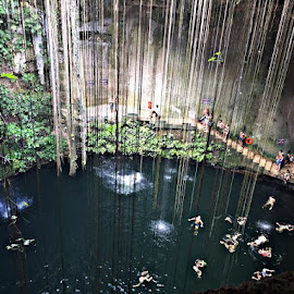 Ik kill cenote by Heidi George - Landscapes Caves & Formations
