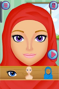 Hijab Muslim Dress Up Games- screenshot thumbnail