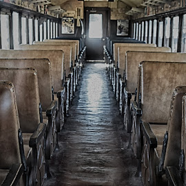 Antique Railway Car  by Lorraine D.  Heaney - Artistic Objects Antiques