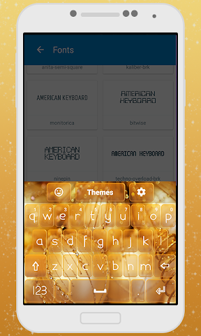 android Decorations Keyboard Theme Screenshot 3