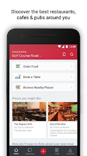 Zomato - Restaurant Finder for Lollipop - Android 5.0