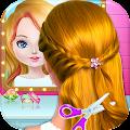 Free Download School kids Hair styles-Makeup Artist Girls Salon APK for Samsung