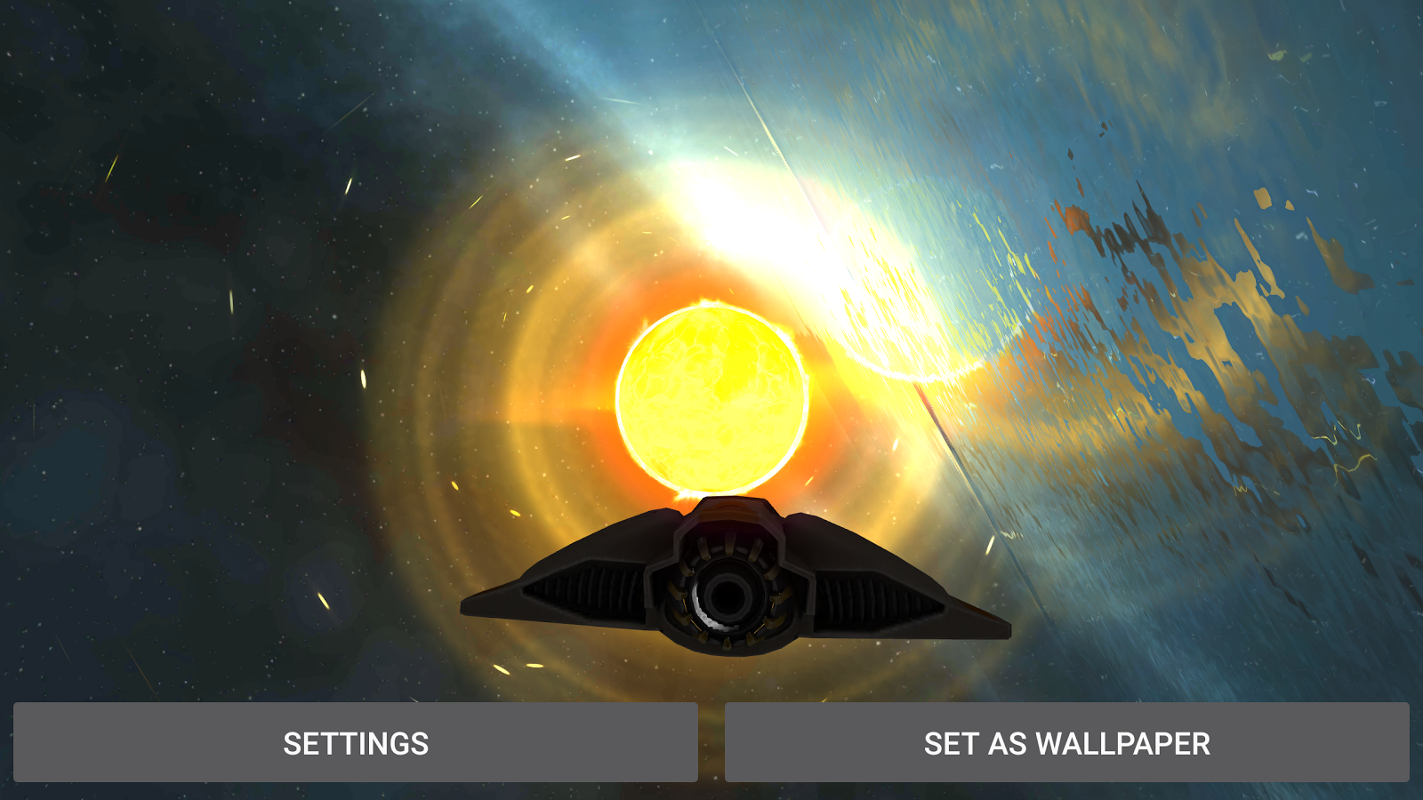Alien Galaxy 3D Live Wallpaper Screenshot 18