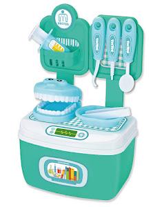 """Игровой набор """"Профессии"""", Добрый доктор стоматолог, зеленый"""