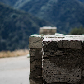 The gate into hiking route by Zack Hsu - Novices Only Objects & Still Life ( mountain, outdoor, rock, landscape, hiking, gate )