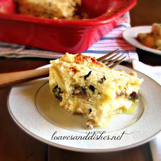 Spinach Mushroom Lasagna Cream Cheese Recipes