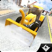 Snow Plow Winter Truck Driver APK for Bluestacks