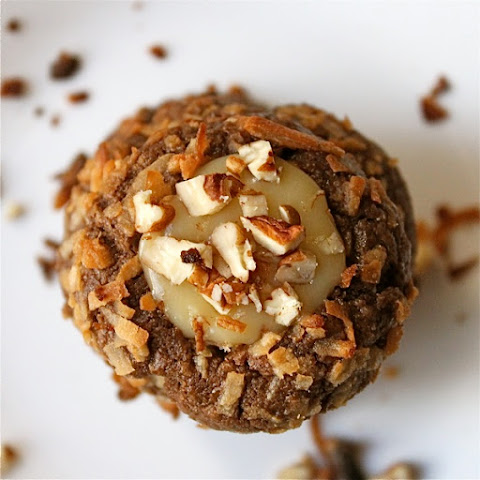 German Chocolate Thumbprint Cookies (and Cookie Contest Updates!)