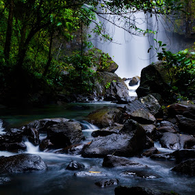 Tunan Waterfall North Sulawesi by Klaudio Hosang - Landscapes Waterscapes ( waterfall, forest, tunan, waterscapes )
