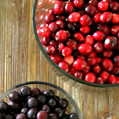 Cranberry Blueberry Sauce