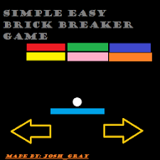 Easy Brick Breaker Game