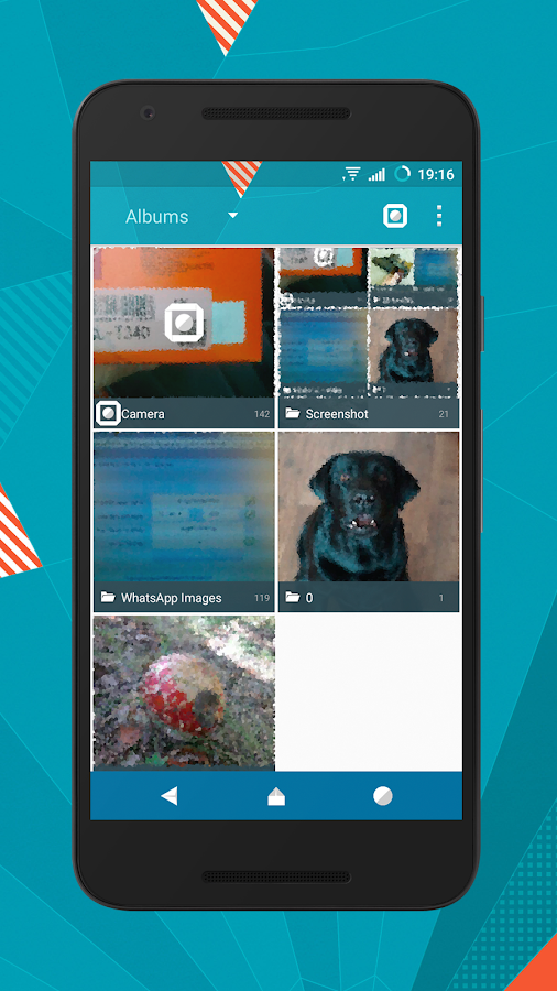 Origami cm12.1 cm13 theme Screenshot 14