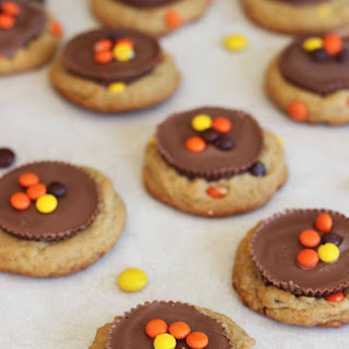 Reese's Peanut Butter Cup & Reese's Pieces Peanut Butter Cookies