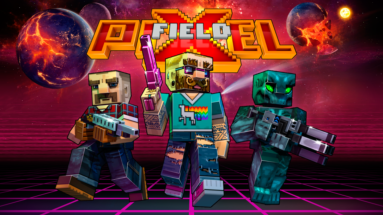 Pixelfield - Best FPS MOBA Strategy Game Screenshot 5
