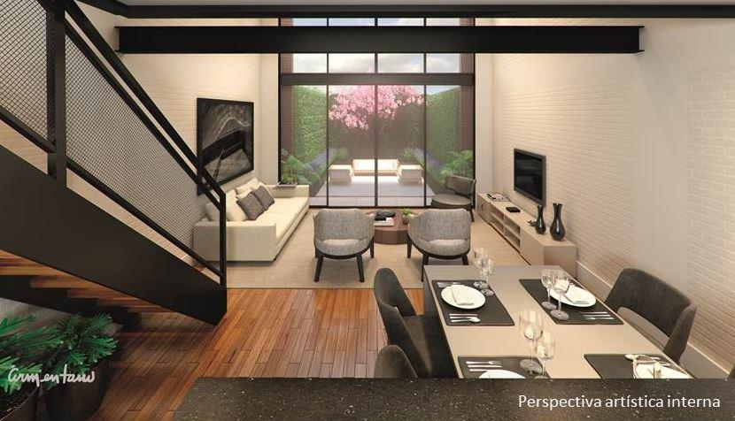 Perspectiva do Garden Duplex