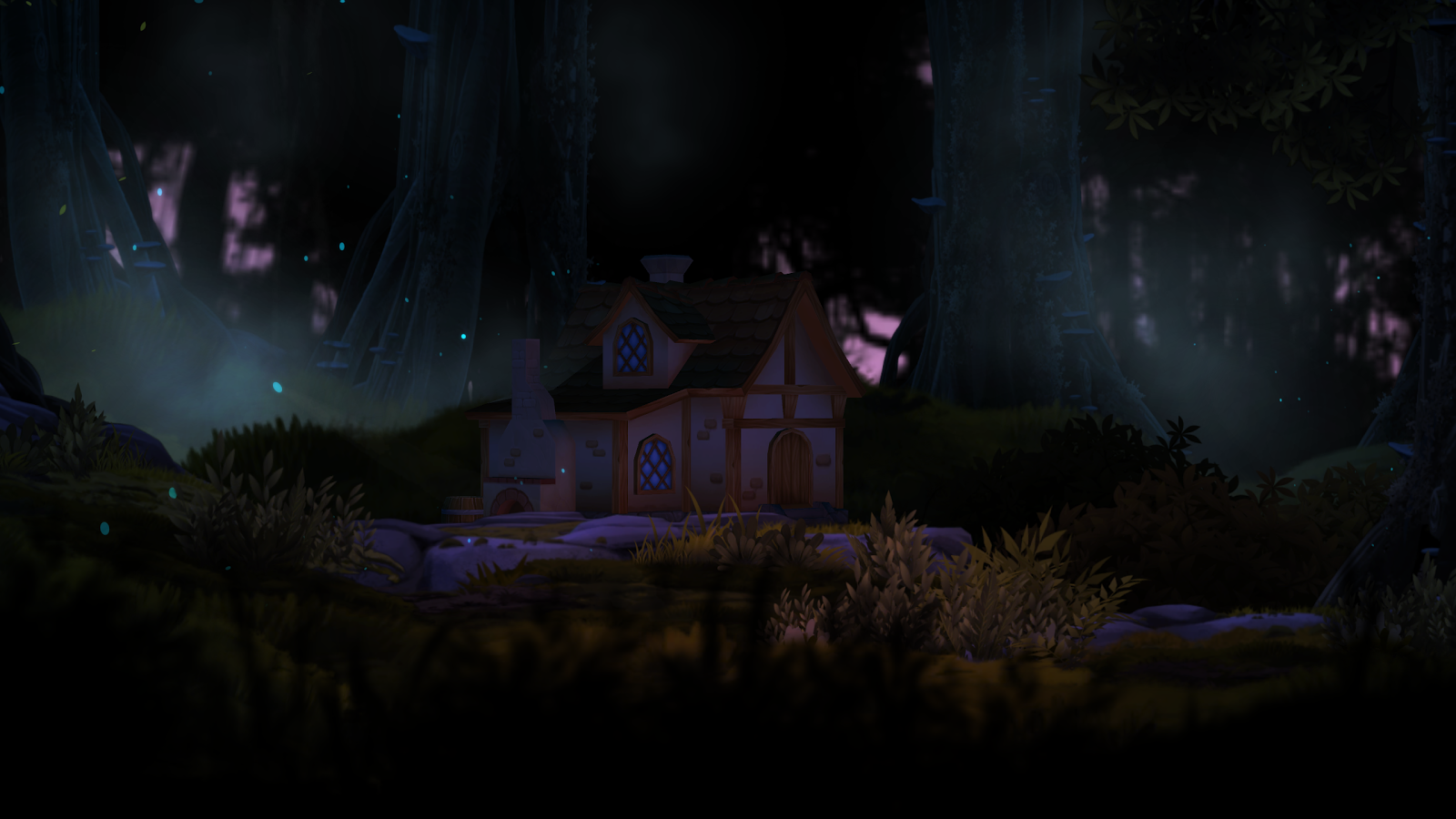 3D Forest House Full LWP Screenshot 11