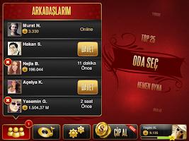 Screenshot of Okey Plus