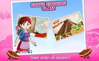 Screenshot of Sara's Cooking Class: Vacation
