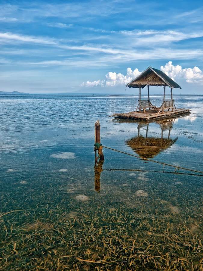 The Raft and the Stump by Artgie Lopez - Novices Only Landscapes ( calatagan, jeek! photography, philippines )