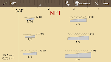 Screenshot of Thread Pitch