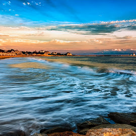Watch Hill After a Storm by Robert Petrocelli - Landscapes Waterscapes ( clouds, ocean )