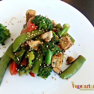 Vegetable Tempeh Stir Fry – #glutenfree #vegan