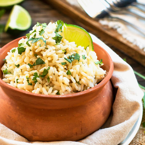 Coconut Cilantro Lime Brown Rice – Made in a Rice Cooker