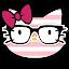 App Pink Kitty Princess Theme APK for smart watch