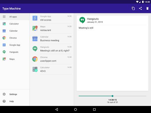 Type Machine - screenshot