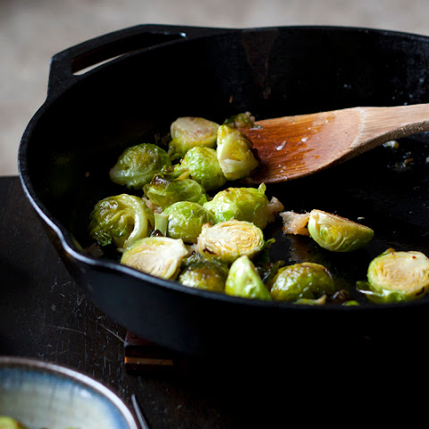Roasted Brussels Sprouts with Preserved Lemon & Aleppo Pepper
