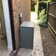 New external Grant oil boiler for RWM Construction client in East Haddon - Northamptonshire