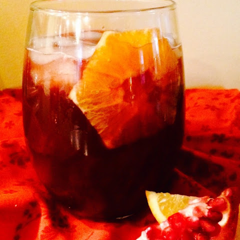Pomegranate Bourbon Punch