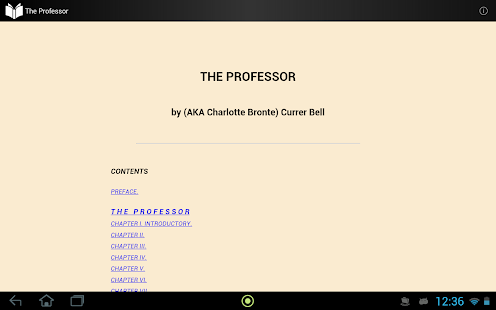The Professor - screenshot